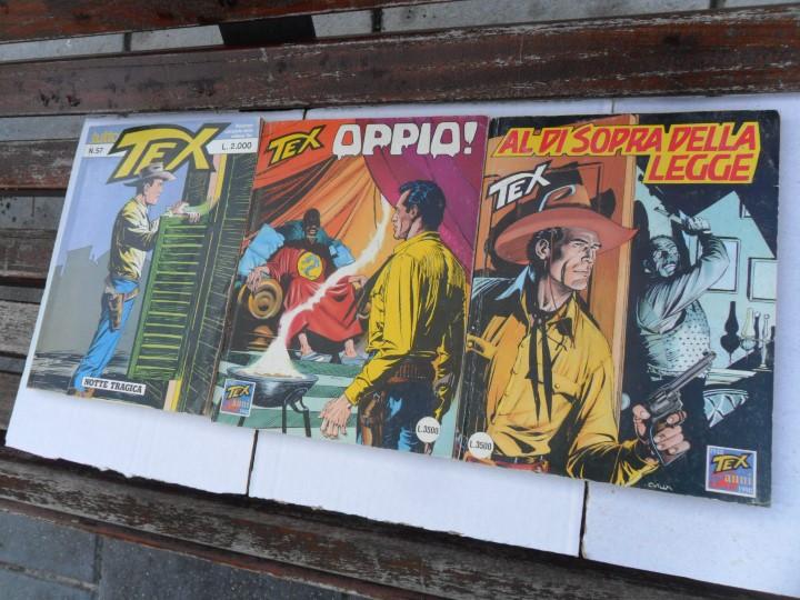 Cómics: TEX NºS 15 16 34 35 37 38 45 46 56. BURU LAN 1972. SUELTOS. REGALO 3 ITALIANOS Y 2 DE ZINCO. - Foto 2 - 87741060
