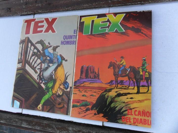 Cómics: TEX NºS 15 16 34 35 37 38 45 46 56. BURU LAN 1972. SUELTOS. REGALO 3 ITALIANOS Y 2 DE ZINCO. - Foto 3 - 87741060
