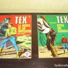 Cómics: TEX - 2 EJEMPLARES NUMS. 27 Y 30 - AÑO 1971 -. Lote 109476555