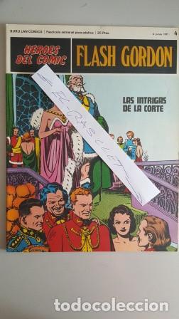 - HEROES DEL COMIC - FLASH GORDON Nº 4 - 4 JUNIO DEL 1971 - (Tebeos y Comics - Buru-Lan - Flash Gordon)
