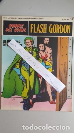 - HEROES DEL COMIC - FLASH GORDON Nº 10 - 16 JULIO DEL 1971 - (Tebeos y Comics - Buru-Lan - Flash Gordon)