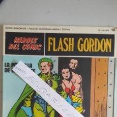 Cómics: - HEROES DEL COMIC - FLASH GORDON Nº 10 - 16 JULIO DEL 1971 -. Lote 110106711