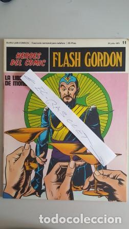 - HEROES DEL COMIC - FLASH GORDON Nº 11 - 23 JULIO DEL 1971 - (Tebeos y Comics - Buru-Lan - Flash Gordon)