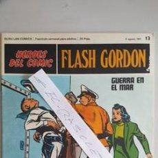 Cómics: - HEROES DEL COMIC - FLASH GORDON Nº 11 - 6 AGOSTO DEL 1971 -. Lote 110106891