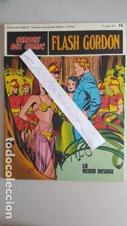 - HEROES DEL COMIC - FLASH GORDON Nº 14 - 13 DE AGOSTO DEL 1971 - (Tebeos y Comics - Buru-Lan - Flash Gordon)