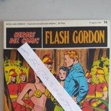 Cómics: - HEROES DEL COMIC - FLASH GORDON Nº 14 - 13 DE AGOSTO DEL 1971 -. Lote 110106947
