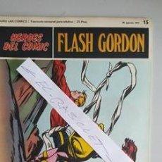 Cómics: - HEROES DEL COMIC - FLASH GORDON Nº 15 - 20 DE AGOSTO DEL 1971 -. Lote 110107203