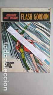 - HEROES DEL COMIC - FLASH GORDON Nº 16 - 27 DE AGOSTO DEL 1971 - (Tebeos y Comics - Buru-Lan - Flash Gordon)