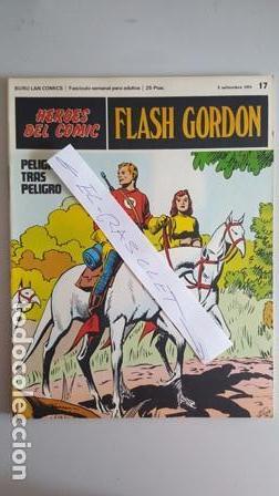 - HEROES DEL COMIC - FLASH GORDON Nº 17 - 3 DE SEPTIEMBRE DEL 1971 - (Tebeos y Comics - Buru-Lan - Flash Gordon)