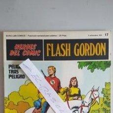 Cómics: - HEROES DEL COMIC - FLASH GORDON Nº 17 - 3 DE SEPTIEMBRE DEL 1971 -. Lote 110107335