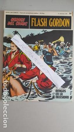 - HEROES DEL COMIC - FLASH GORDON Nº 19 - 17 DE SEPTIEMBRE DEL 1971 - (Tebeos y Comics - Buru-Lan - Flash Gordon)