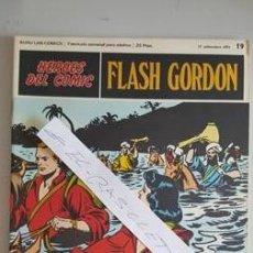 Cómics: - HEROES DEL COMIC - FLASH GORDON Nº 19 - 17 DE SEPTIEMBRE DEL 1971 -. Lote 110107447