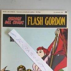 Cómics: - HEROES DEL COMIC - FLASH GORDON Nº 20 - 24 SEPTIEMBRE DEL 1971 -. Lote 110107515