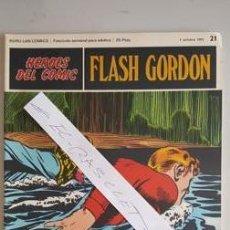 Cómics: - HEROES DEL COMIC - FLASH GORDON Nº 21 - 17 DE OCTUBRE DEL 1971 -. Lote 110107575