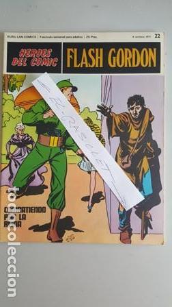 - HEROES DEL COMIC - FLASH GORDON Nº 22 - 8 DE OCTUBRE DEL 1971 - (Tebeos y Comics - Buru-Lan - Flash Gordon)