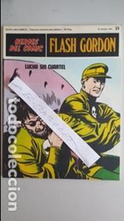 - HEROES DEL COMIC - FLASH GORDON Nº 23 - 15 DE OCTUBRE DEL 1971 - (Tebeos y Comics - Buru-Lan - Flash Gordon)