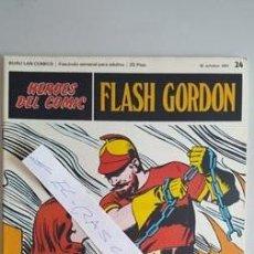 Cómics: - HEROES DEL COMIC - FLASH GORDON Nº 24 - 22 DE OCTUBRE DEL 1971 -. Lote 110107747