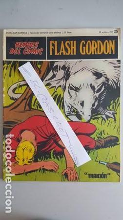 - HEROES DEL COMIC - FLASH GORDON Nº 25 - 29 DE OCTUBRE DEL 1971 - (Tebeos y Comics - Buru-Lan - Flash Gordon)