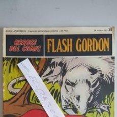 Cómics: - HEROES DEL COMIC - FLASH GORDON Nº 25 - 29 DE OCTUBRE DEL 1971 -. Lote 110107803