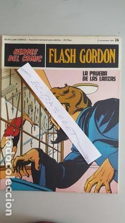 - HEROES DEL COMIC - FLASH GORDON Nº 26 - 5 NOVIEMBRE DEL 1971 - (Tebeos y Comics - Buru-Lan - Flash Gordon)