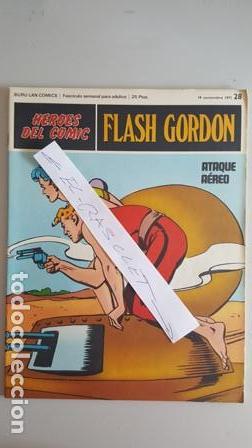 - HEROES DEL COMIC - FLASH GORDON Nº 28 - 19 NOVIEMBRE DEL 1971 - (Tebeos y Comics - Buru-Lan - Flash Gordon)