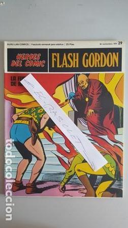 - HEROES DEL COMIC - FLASH GORDON Nº 29 - 26 NOVIEMBRE DEL 1971 - (Tebeos y Comics - Buru-Lan - Flash Gordon)
