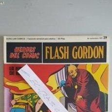Cómics: - HEROES DEL COMIC - FLASH GORDON Nº 29 - 26 NOVIEMBRE DEL 1971 -. Lote 110108007