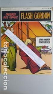 - HEROES DEL COMIC - FLASH GORDON Nº 31 - 10 DICIEMBRE DEL 1971 - (Tebeos y Comics - Buru-Lan - Flash Gordon)