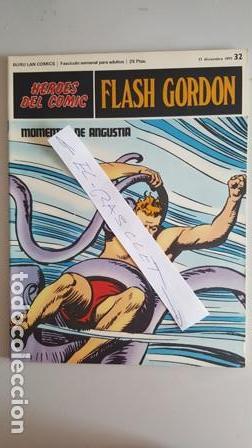 - HEROES DEL COMIC - FLASH GORDON Nº 32 - 17 DICIMBRE DEL 1971 - (Tebeos y Comics - Buru-Lan - Flash Gordon)