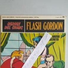 Cómics: - HEROES DEL COMIC - FLASH GORDON Nº 35 - 7 ENERO DEL 1972 -. Lote 110108395