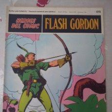 Cómics: BURU LAN: HEROES DEL COMIC FLASH GORDON NUM. 015. BUEN ESTADO ( EDITORIAL BURULAN ). Lote 110151247