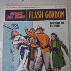 Cómics: BURU LAN: HEROES DEL COMIC FLASH GORDON NUM. 13. MUY BUEN ESTADO ( EDITORIAL BURULAN ). Lote 110151603