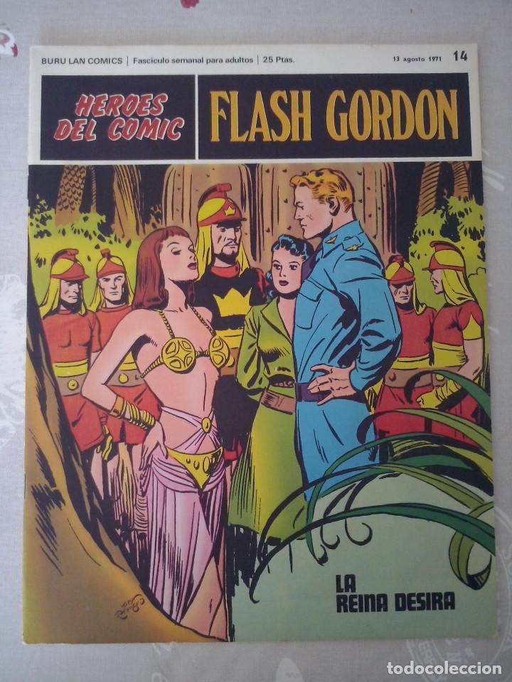 BURU LAN: HEROES DEL COMIC: FLASH GORDON NUM. 14. MUY BUEN ESTADO ( EDITORIAL BURULAN ) (Tebeos y Comics - Buru-Lan - Flash Gordon)