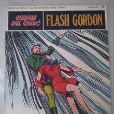 Cómics: BURU LAN: HEROES DEL COMIC FLASH GORDON NUM. 16. MUY BUEN ESTADO ( EDITORIAL BURULAN ). Lote 110151823