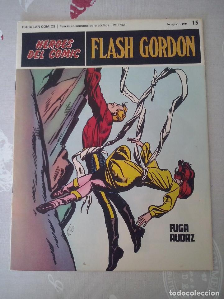 BURU LAN: HEROES DEL COMIC FLASH GORDON NUM. 15.MUY BUEN ESTADO ( EDITORIAL BURULAN ) (Tebeos y Comics - Buru-Lan - Flash Gordon)