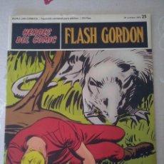 Cómics: BURU LAN: HEROES DEL COMIC FLASH GORDON NUM. 25. MUY BUEN ESTADO ( EDITORIAL BURULAN ). Lote 110152263