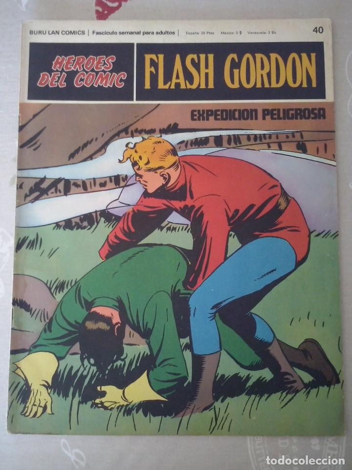 BURU LAN: HEROES DEL COMIC FLASH GORDON NUM. 40.MUY BUEN ESTADO ( EDITORIAL BURULAN ) (Tebeos y Comics - Buru-Lan - Flash Gordon)