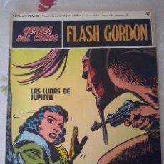 Cómics: BURU LAN: HEROES DEL COMIC FLASH GORDON NUM. 43. MUYY BUEN ESTADO ( EDITORIAL BURULAN ). Lote 110152863