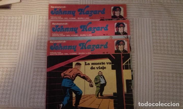 JOHNNY HAZARD Nº 6, 7 Y 8, DE FRANK ROBBINS (ANTOLOGIA DEL COMIC BURULAN)(TAMBIEN POSIBLE SUELTOS) (Tebeos y Comics - Buru-Lan - Otros)