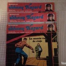 Cómics: JOHNNY HAZARD Nº 6, 7 Y 8, DE FRANK ROBBINS (ANTOLOGIA DEL COMIC BURULAN)(TAMBIEN POSIBLE SUELTOS). Lote 110286903