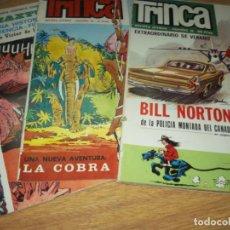 Cómics: TRINCA 3 COMICS N.16 EXTRAORDINARIO,15 Y 14 EDITOR DONCEL OFERTON!. Lote 110414655