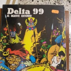 Cómics: DELTA 99,EL AGENTE EXTERNO. Lote 110482703