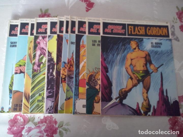 BURU LAN: COLECCION COMPLETA HEROES DEL COMIC FLASH GORDON ,128 NUMEROS EN PERFECTO ESTADO. (Tebeos y Comics - Buru-Lan - Flash Gordon)
