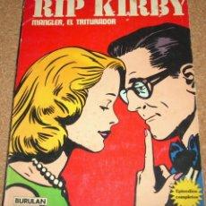 Cómics: RIP KIRBY Nº 2 MANGLER, EL TRITURADOR-TOMO RÚSTICA BURU LAN 1974 CON EPISODIO COMPLETO. Lote 111290963