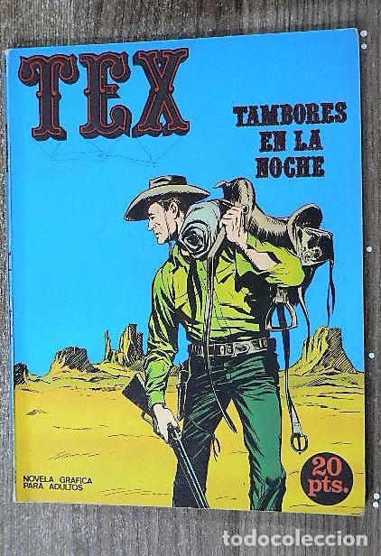TAMBORES EN LA NOCHE (TEX 4) (Tebeos y Comics - Buru-Lan - Tex)