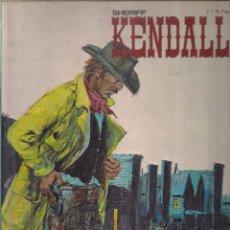 Cómics: SHERIFF KENDALL. Nº 2 : JUSTICIA EN SEELY CITY ; EL RAPTO DEL DOCTOR. Lote 111791007