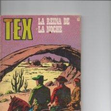 Cómics: TEX Nº68 LA REINA DE LA NOCHE. Lote 111812635