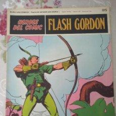 Cómics: BURU LAN: HEROES DEL COMIC FLASH GORDON NUM. 015. ( EDITORIAL BURULAN ). Lote 111978675