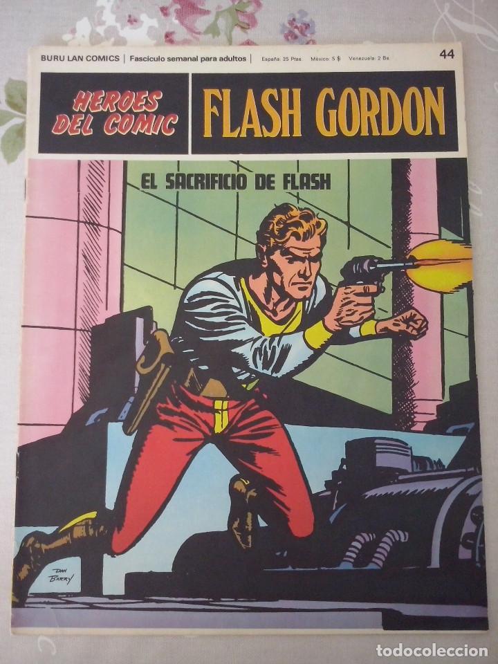 BURU LAN: HEROES DEL COMIC FLASH GORDON NUM. 44. MUY BUEN ESTADO ( EDITORIAL BURULAN ) (Tebeos y Comics - Buru-Lan - Flash Gordon)