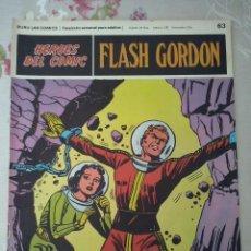 Cómics: BURU LAN: HEROES DEL COMIC FLASH GORDON NUM.63 . BUEN ESTADO ( EDITORIAL BURULAN ). Lote 112007435